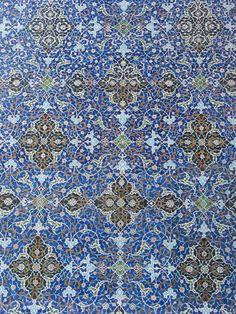 Mosaic from Isfahan, Iran