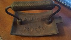 Vtg Antique C. W. Whitfield Cast Iron Garment Clothes Fluter Pleater Crimper by 3LittleWitches on Etsy