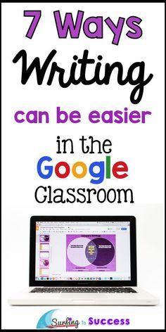 Teaching Writing using Google