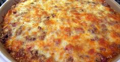 Mexican casserole reminds me of eating dinner at my mom's house again... so yummy!