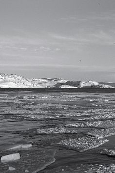 Rough 1/3 • Ilulissat Icefjord, West Greenland • This image was taken in early April on a boat cruise in Ilulissat Icefjord, a UNESCO World Heritage site. Was it cold? You bet. Was it worth it? Every single moment. • landscape   panorama   panoramic   large format   print   original   photography   image   interior design ideas   wall decor
