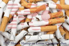 ITC Shares Slump on Loose Cigarettes Ban: ITC shares on Tuesday fell over 2 per cent to Rs 324.60, a day after Maharashtra banned the sale of loose cigarettes.