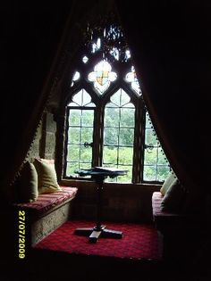 Langley Castle Hotel: Greenwich Room Window Seat