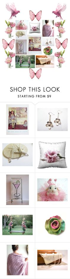 """""""Spring Flutter"""" by jarmgirl ❤ liked on Polyvore featuring vintage"""