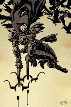 Diablo III Demon Hunter by Duncan Fegredo