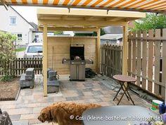 Entstehung einer Outdoor Küche