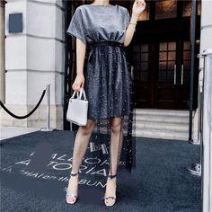 Hijab Fashion, Korean Fashion, Girl Fashion, Fashion Dresses, Fashion Design, Classy Outfits, Cool Outfits, Lace Dress Extender, Catwalk Design