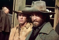 Kevin Kline and Scott Glenn in Silverado (1985)