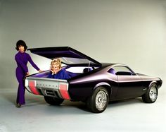 1970 Ford Mustang Milano Concept.