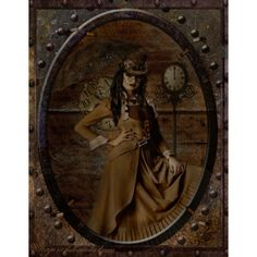 KMRD-Steampunk-tag-livingonsteam.png ❤ liked on Polyvore featuring steampunk