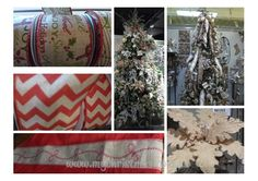 Burlap Christmas decorations continue to be popular at the Dallas Gift Market in 2014. http://christmastrees.mychristmas.com.au/