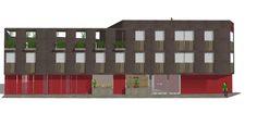 Remodelación fachada ( propuesta 1) Hotel el Faro, Buga