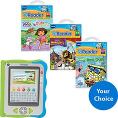 V. Reader Interactive e-Reading System - got this for Taryn with a Hello Kitty game to help her learn to read :o)