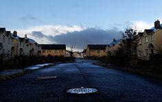 Unsold housing development, Cnoc An Iuir, Drumshanbo, Leitrim, Ireland. #Revolution
