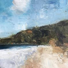 Cove Large Painting, Texture Painting, Oil Painting On Canvas, Painting Frames, Shoe Painting, Abstract Landscape Painting, Abstract Oil, Landscape Paintings, Nature Paintings