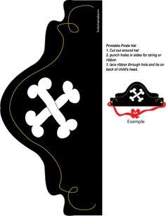 chapeu pirata