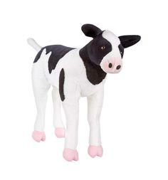 Melissa & Doug Stuffed Calf Life Like Size New With Tags 50% Off  | eBay