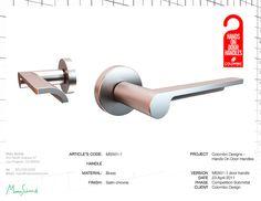 ms501 1 door handle