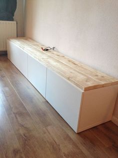 Do you use the IKEA cabinet panels? Do you use the IKEA cabinet panels? Living Room Tv, Home And Living, Interior Design Living Room, Living Room Designs, Ikea Expedit Shelf, Home Climbing Wall, Muebles Living, Small Hallways, Kitchen Benches