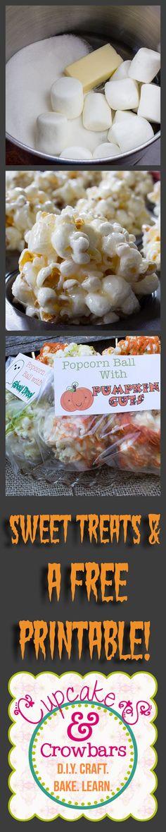 A fun & sweet treat for the Ghouling Season! via http://cupcakesandcrowbars.com @cupcakescrowbar: