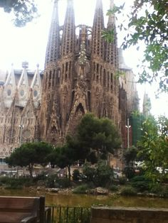 Barcelona- to walk in a Mediterranean rain storm is amazing. Just think of the history of sailors that have experienced that.   Great city to walk. It doesn't matter what time of year, there is always something amazing to enjoy.