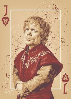 """Game of Thrones """"Playing Cards"""" posters (2012-2014) by ratscape"""