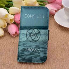Bring Me The Horizon Don't Let Me Drown CUSTOM PERSONALIZED WALLET FOR IPHONE 4 4S 5 5S 5C 6 6 PLUS 7 AND SAMSUNG GALAXY S3 S4 S5 S6 S7 CASE - GOGOLFNW.COM