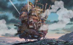 Read 'Miyazaki On Miyazaki: The Animation Genius On His Movies'. Hayao Miyazaki is arguably the greatest living animation director, the Japanese . Howl's Moving Castle Movie, Howls Moving Castle Wallpaper, Hayao Miyazaki, Tolkien, Joe Hisaishi, Castle Parts, Steampunk, Animation, Wallpaper Pc