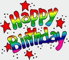Birthday Clipart or Mobile Wallpaper