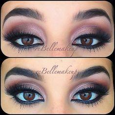 Gorgeous Pink Smokey eye  (reBelle by Angelica Mikaelian)