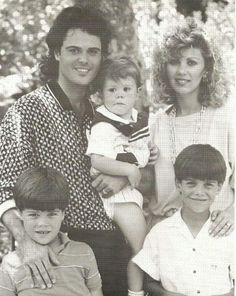 Donny Osmond and first of his family.I loved Donny so much & i still do.Please check out my website thanks. www.photopix.co.nz