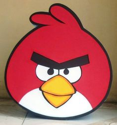 Moldes de Angry Birds en foami - Imagui