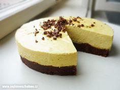 Pomerančový raw cheescake Cheesecake, Medium, Healthy, Sweet, Desserts, Food, Cheesecake Cake, Tailgate Desserts, Deserts