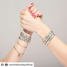 Create your bracelet #nominationitaly #friends #createyourbracelet #composablebracelet #bracelet #giftideas #her #nomination #lovenomination #valentinagioielli #officialdealer