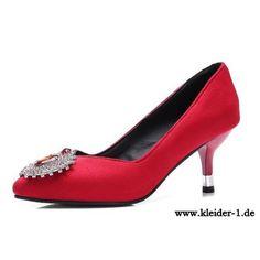 Stiletto Damen Pumps in Rot