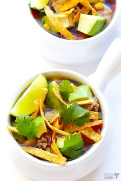 Skinny Slow Cooker Taco Soup 3