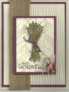 Grateful Thanksgiving by barbaradwyer82 - Cards and Paper Crafts at Splitcoaststampers