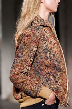The Jacket of the Season was Inspired by a Moroccan Rug