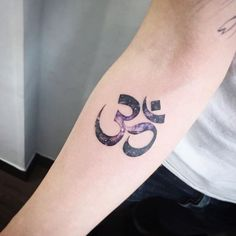 Watercolor Om symbol by tattooist_flower sacred om symbol watercolor pastel