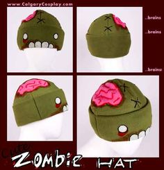 Cute Zombie Hat - This would be funny on a baby