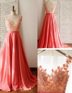 2016 bridesmaid dress, coral