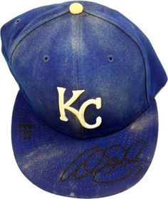 Alex Gordon Autographed / Signed 2007 Game-Used Kansas City Royals Baseball Cap « Clothing Adds for your desire
