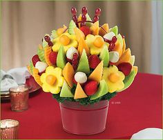 1000 images about food and drinks on pinterest fiestas for Decoracion de frutas para fiestas infantiles