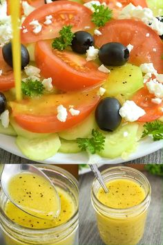 Apple Cider Vinegar Salad Dressing is part of Vinegar salad dressing - This Apple Cider Vinegar Salad Dressing is my favorite homemade salad dressing, and it's very easy to make Simple ingredients incredible taste! Sauce Recipes, Chicken Recipes, Cooking Recipes, Healthy Recipes, Keto Recipes, Salmon Recipes, Vinegar Salad Dressing, Salad Dressing Recipes, Salad Vinegar