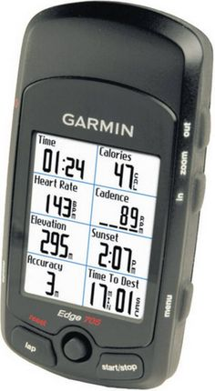 Garmin Edge 705 This compact computer with GPS, which also measures cadence - The Independent