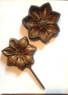 113 best silk flower tools images on pinterest tools cloth vintage antique millinery tool die mold ebay mightylinksfo
