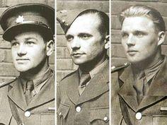 Jan Kubiš - Jozef Gabčík - Josef Valčík We Will Never Forget, Paratrooper, Czech Republic, World War, Wwii, Military, Faces, Men, Country
