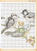 Gallery.ru / Фото #16 - ФР_08(08)_2009 г. - f-morgan Cross Stitch Cards, Cross Stitch Animals, Butterfly Cross Stitch, Cross Patterns, Stitch Patterns, Filet Crochet, Creative Crafts, Projects To Try, Birds