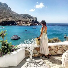 Best view hotel in Folegandros island Best View Hotel, Best Hotels, Nice View, Greece, Cover Up, Island, Beach, Blue, Dresses