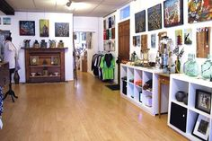 Ponshop Into affordable art and local artisans? You'll want to stop by Ponshop Studio, a combined retail shop/art studio/gallery space stocked to the gills with colorful handmade works — everything from cool ceramics and paintings to jewelry and T-shirts. Owners Scarlett and Gabriel Pons have contributed works to the shop, too, in